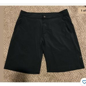 Lululemon Men's Navy Blue Unlined Shorts